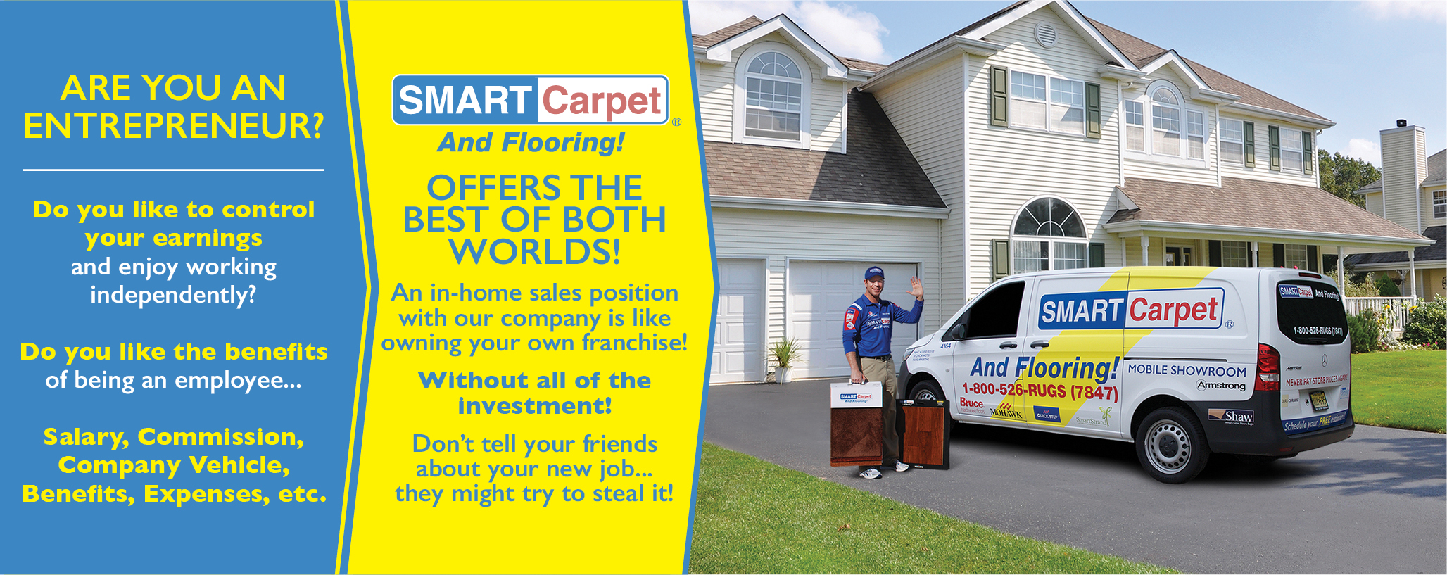 home carpet and flooring sales jobs